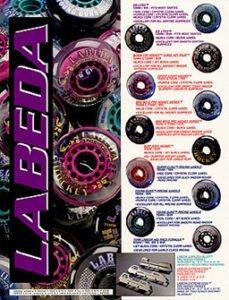Labeda Wheels print ad by 38West, Brian Weiske
