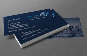 Richter Dynamics business cards | 38West Web Design & Creative Marketing Agency in Orange County, CA