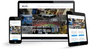 Bexel Global Broadcast Solutions in Burbank, CA | 38West Web Design & Creative Marketing Agency in Orange County, CA
