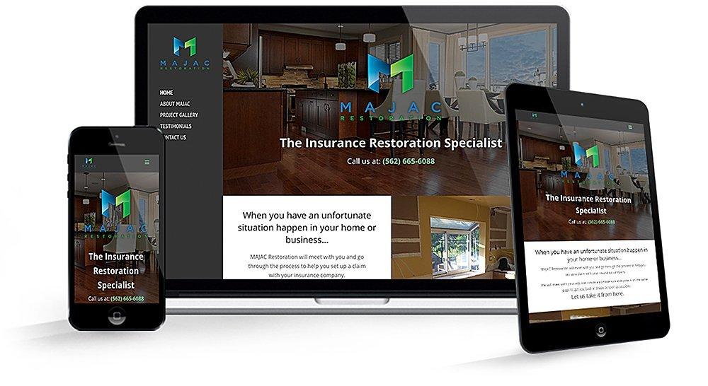 MAJAC Restoration | 38West Web Design & Creative Marketing Agency in Orange County, CA