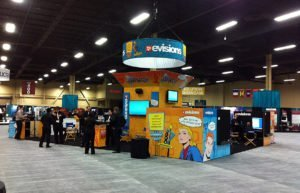 Evisions Trade Show Booth Design | 38West Web Design & Creative Marketing Agency in Orange County, CA