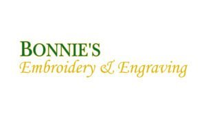Logo created for Bonnie's Embroidery & Engraving logo by 38West