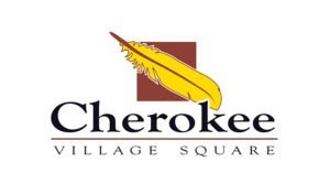 Logo created for Cherokee Village Square by 38West