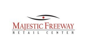 Logo created for Majestic Freeway Retail Center by 38West