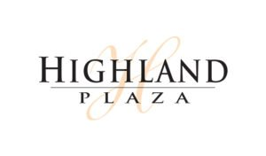Logo created for Highland Plaza by 38West