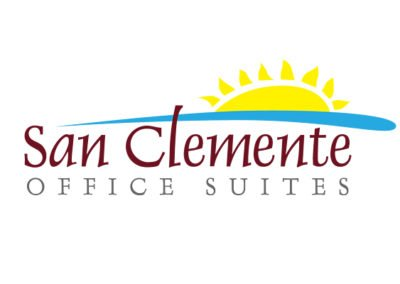 Logo created for San Clemente Office Suites by 38West