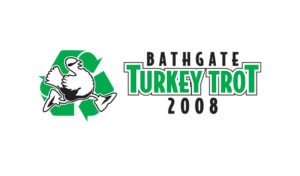 Logo created for Bathgate Elementary School's Turkey Trot by 38West
