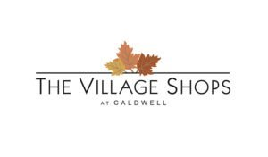Logo created for The Village Shops at Caldwell by 38West