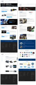 Responsive website design for Bexel Global Broadcast Solutions in Burbank, CA | 38West Best Web Design & Creative Marketing Agency in Orange County, CA