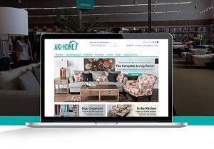 Aki-Home E-Commerce Website | 38West Web Design & Creative Marketing Agency in Orange County, CA