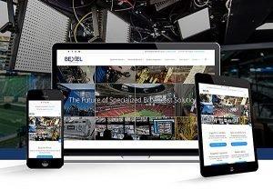 Responsive website design for Bexel Global Broadcast Solutions in Burbank, CA   38West Best Web Design & Creative Marketing Agency in Orange County, CA