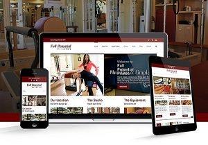 Full Potential Pilates Website   38West Web Design & Creative Marketing Agency in Orange County, CA