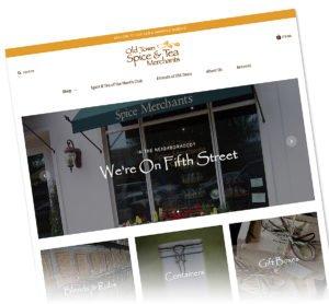 Old Town Spice & Tea Merchants   38West Web Design & Creative Marketing Agency in Orange County, CA