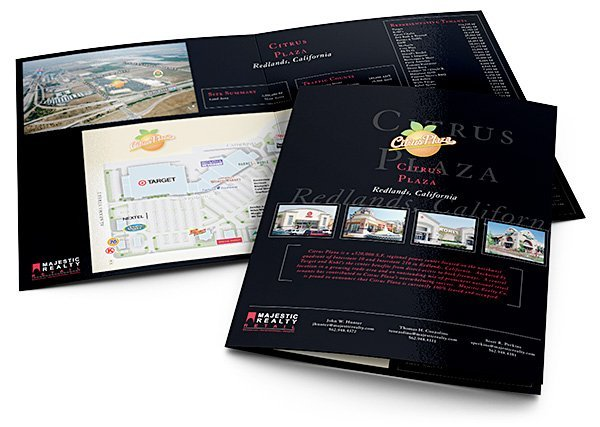 Majestic Realty Retail brochure | 38West Web Design & Creative Marketing Agency in Orange County, CA